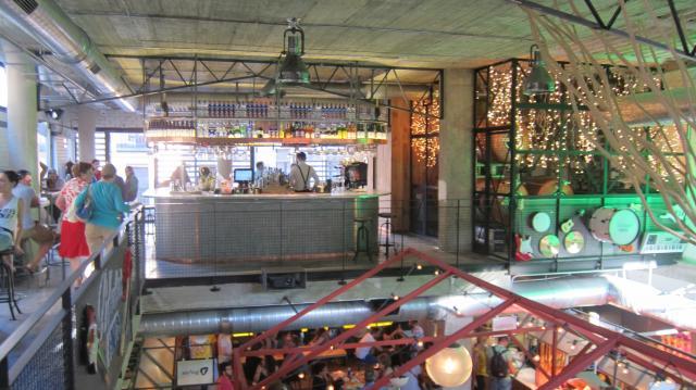 Inside Mercado de San Ildefonso, Calle Fuencarral, 57, Madrid