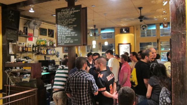 Inside Lamiak bar in La Latina, Calle Cava Baja, 42, Madrid