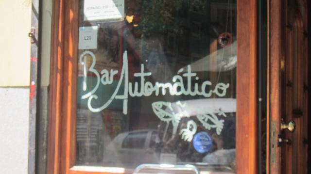 Bar Automático, Calle de Argumosa, 17, Madird