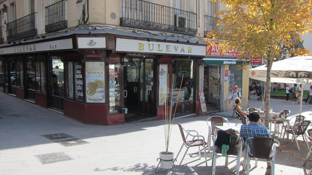 Bulevar bar in Calle de Santa Teresa, 2, Madrid