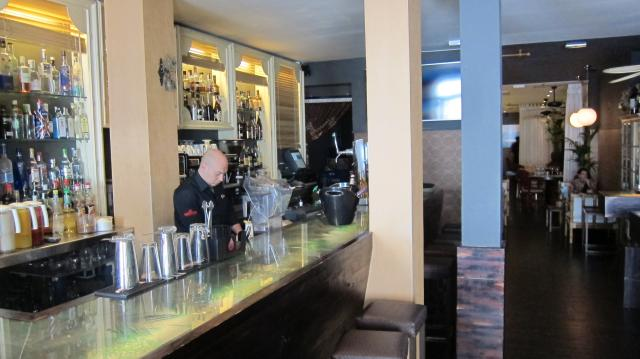 The bar at La Candelita, Calle del Barquillo, 30, Madrid