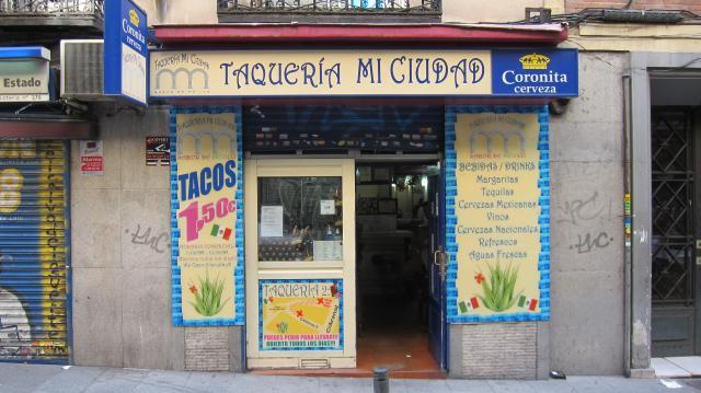 Taquería Mi Ciudad, Calle de las Fuentes, 11, Madrid