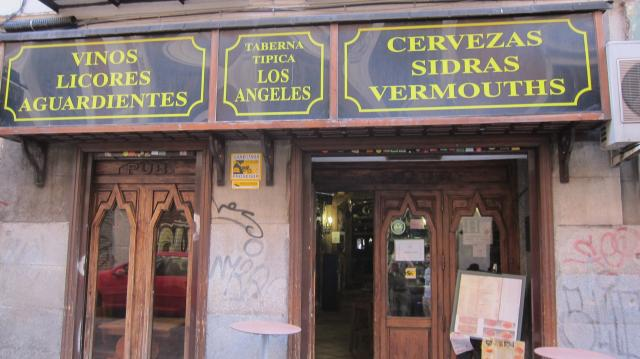 Outside of the Taberna de los Ángeles, Calle de Costanilla de Los Ángeles, 8, Madrid
