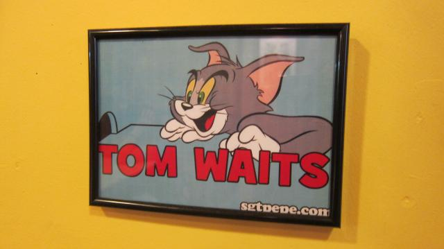Tom Waits en Pontepez, Calle Pez, 18, Madrid