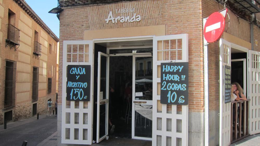Taberna Aranda bar, pub La Latina, Almendro 22, Madrid