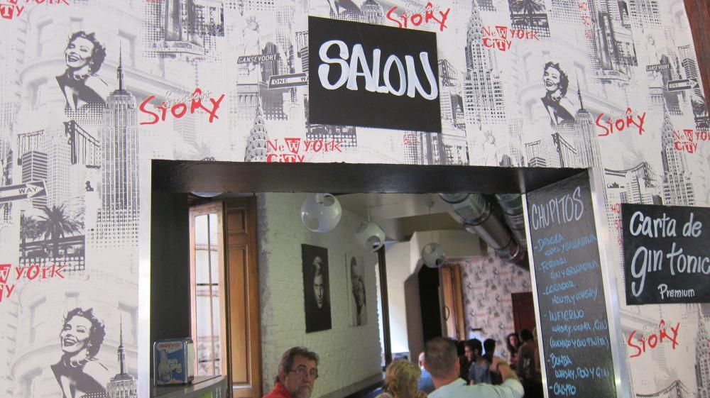 Taberna Aranda bar, pub La Latina, Almendro 22, Madrid, spain
