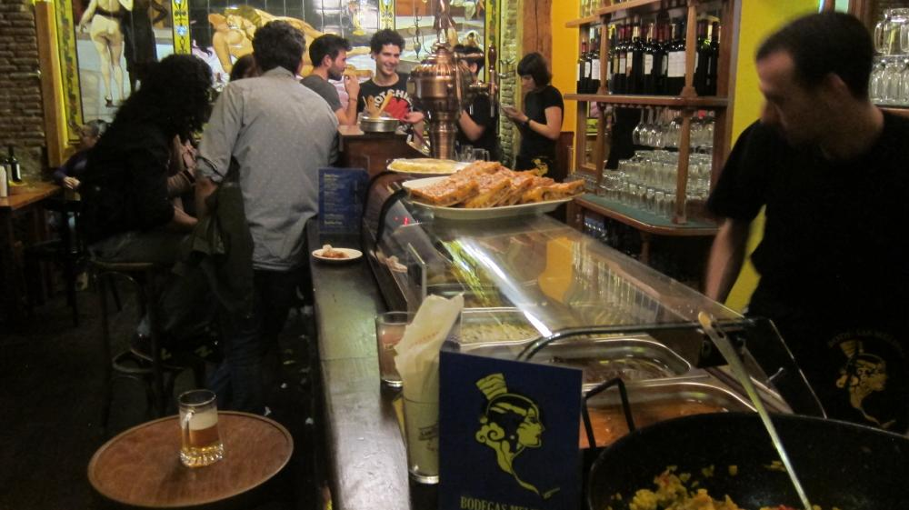bar Bodegas Melibea, Sol, Calle de Espoz y Mina,9, Madrid