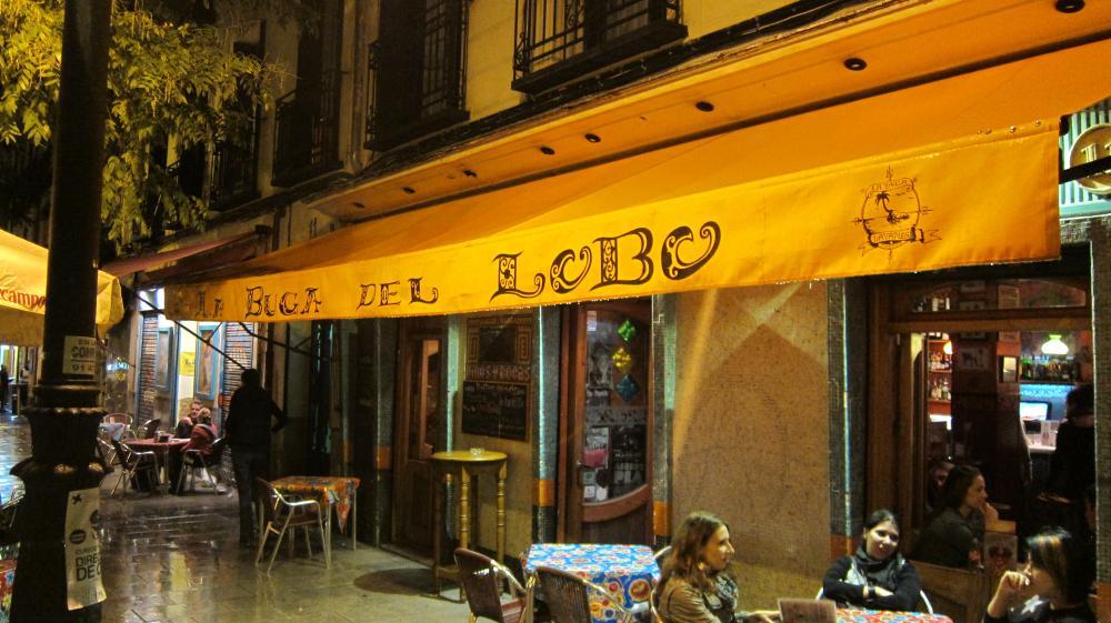 La Buga del Lobo bar in Lavapiés, Calle de Argumosa, 11, Madrid