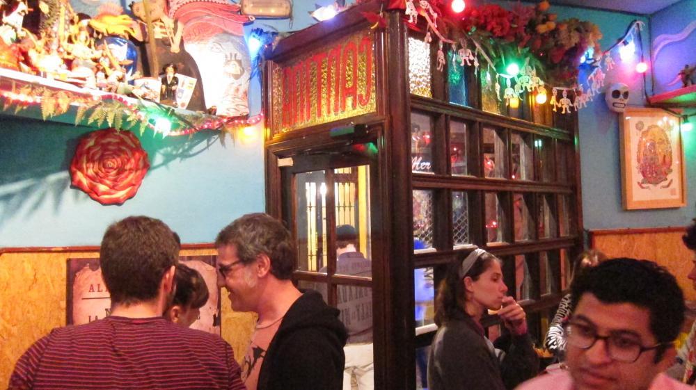 Guia de bares bar mexicana La Catrina, Malasaña, Calle Corredera Alta de San Pablo, 13, Madrid