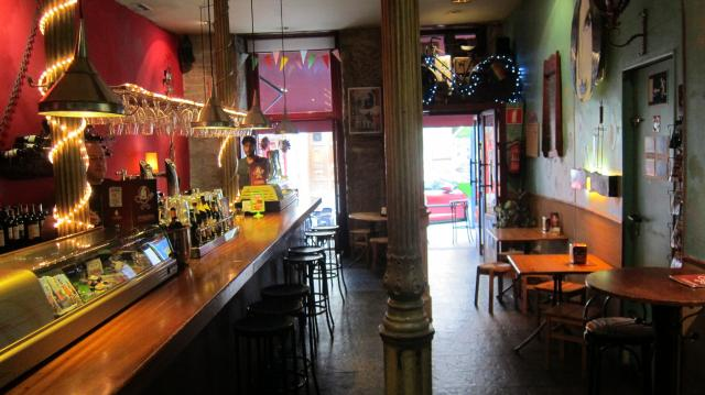 The bar at La Inquilina, Calle Ave María, 39, Madrid