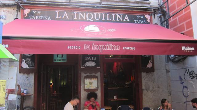 Oustide La Inquilina, Calle Ave María, 39, Madrid