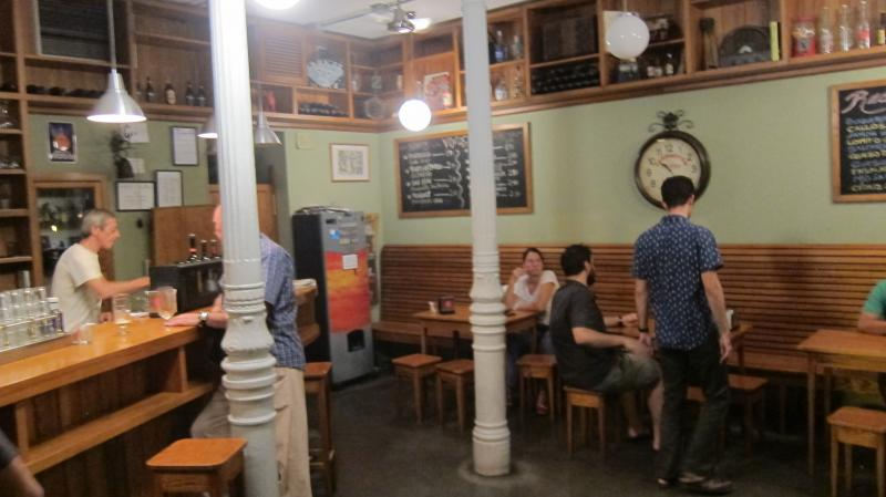 Review of the bar at La Trastienda Taberna, Travesia De Las Vistillas, 13, Madrid