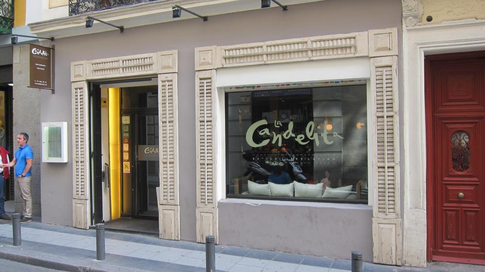 La Candelita bar, Calle del Barquillo, 30, Madrid