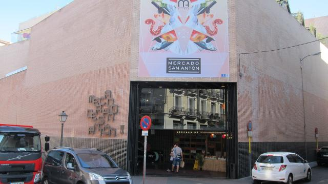 Outside the Mercado San Antón, Calle de Augusto Figueroa, 24, Madrid, Spain
