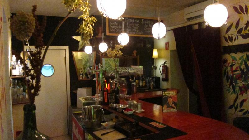 The bar at La Realidad, Calle Corredera Baja de San Pablo, 51, Madird