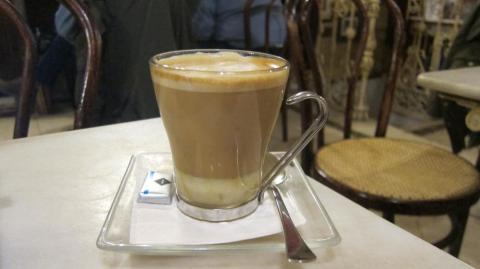 A Manuela from Café Manuela in Malasaña, Madrid